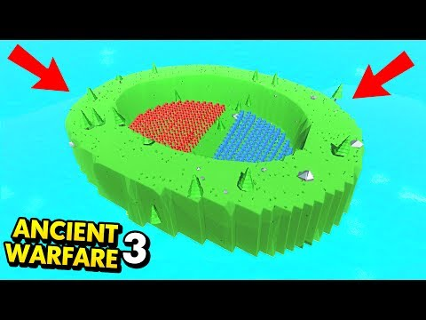 KING OF THE ARENA IN ANCIENT WARFARE 3! (Ancient Warfare 3 Funny Gameplay)