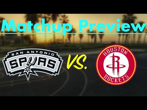 San Antonio Spurs vs. Houston Rockets (2017 Playoff Preview)