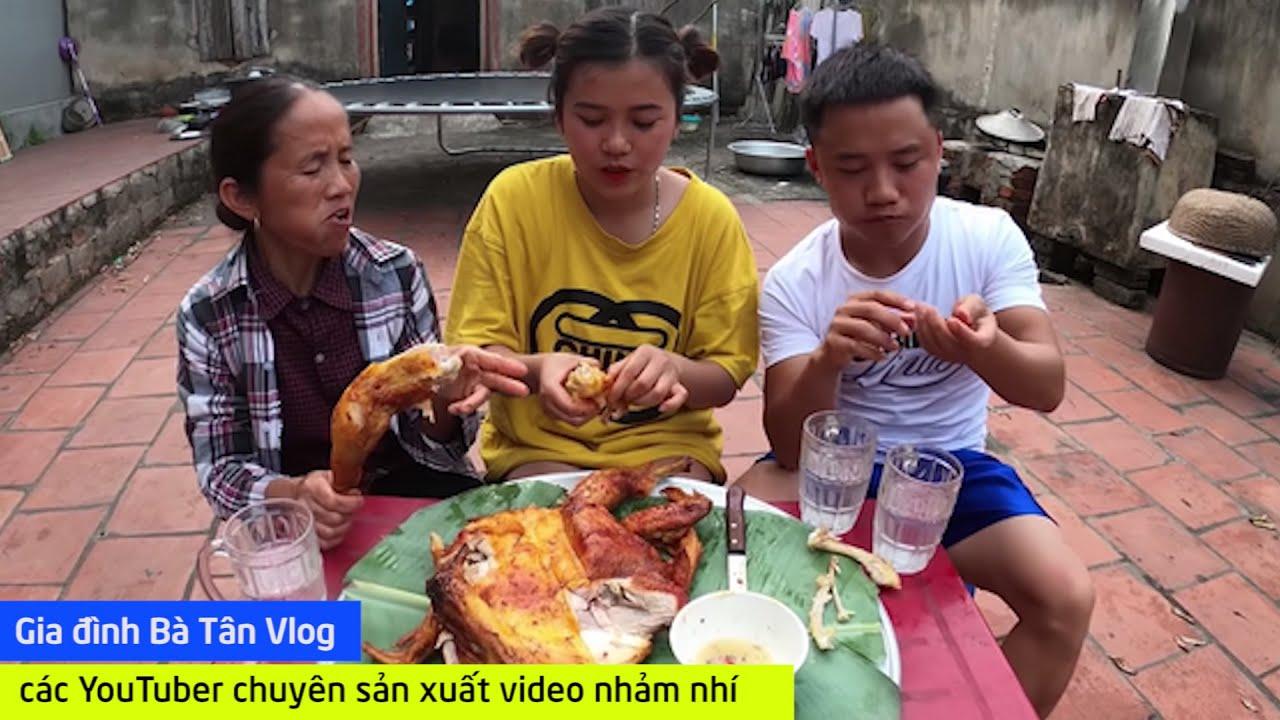 Gia đình Bà Tân Vlog – các YouTuber chuyên sản xuất video nhảm nhí