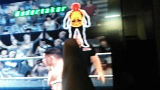 WWE 2008 GAMEPLAY PS2