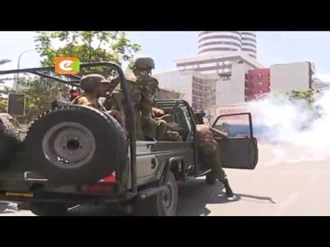 Kenyatta commends police for securing elections