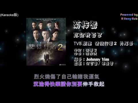 HANA菊梓喬 - 忘記我自己 (Karaoke版) [TVB劇集 使徒行者2 片尾曲] (改良版)