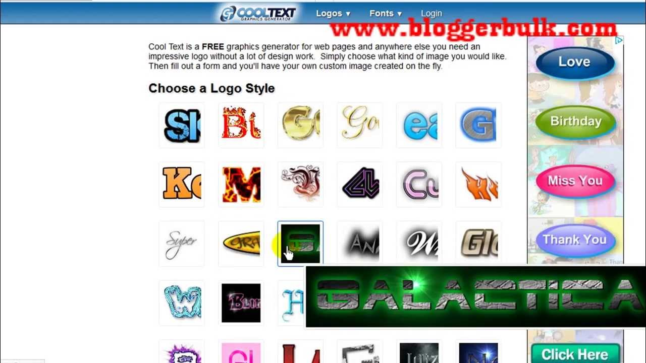 create website logo or badge for online tool cooltext com create website logo or badge for online tool cooltext com
