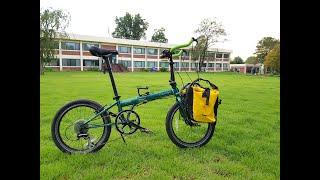 여행용 자전거 커스텀, 미니벨로 불혼바 튜닝(bicyc…