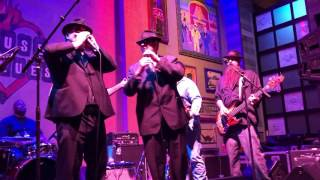 Blues Brothers - Dan Aykroyd and Jim Belushi Play the House of Blues With Brother JD
