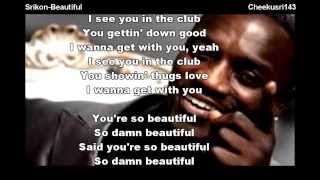 Akon - Beautiful (Feat SRIkon) Cover song with lyrics
