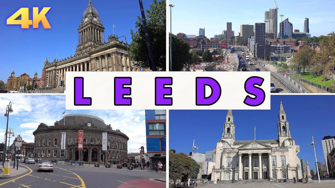 LEEDS - ENGLAND , UK 2020 4K
