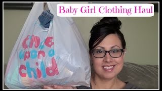 Baby Girl Clothing Haul - Once Upon A Child