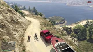 GTA5 | OFF-ROAD Adventure | Towing The Boat Trailer