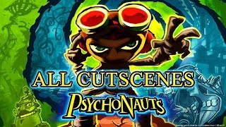 Psychonauts - All Cutscenes Movie (1080p)