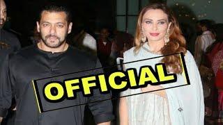 Salman Khan Makes His Relationship OFFICIAL With GF Iulia Vantur At Arpita Khan Ganpati Celebration