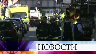 Ввагоне лондонского метро произошел взрыв