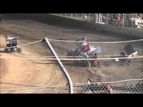 Formula 500 Crash Latrobe Speedway 27/12/15