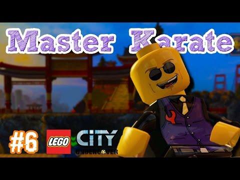 💪 BERGURU KE MASTER KARATE | LEGO CiTY UNDERCOVER INDONESiA