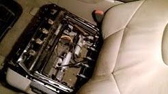 Volvo S60   front seats   2001-2003
