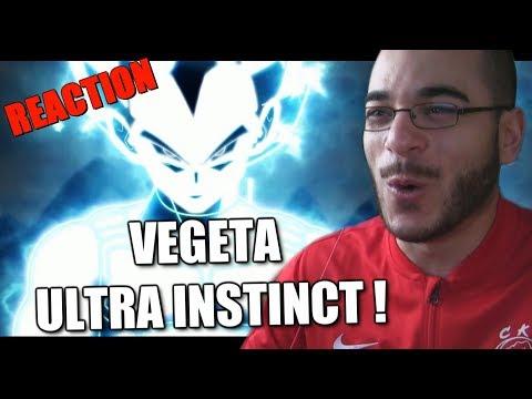 VEGETA ULTRA INSTINCT !!!! (REACTION)