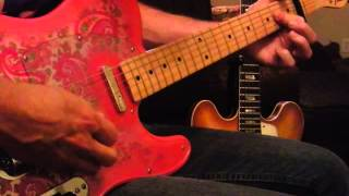 "The Smiths: ""These Things Take Time"" (Lesson) 2001 Paisley Telecaster,"