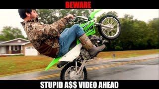 Pit Bike WHEELIES! | Daily videos? Ft. Garret Porter!