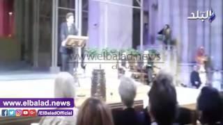 قنصل مصر العام بنيويورك يفتتح معرض مفتاح الحياة .. فيديو وصور
