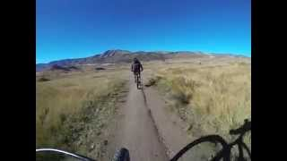 Phil and Dale bike Green Mountain in Lakewood, Colorado