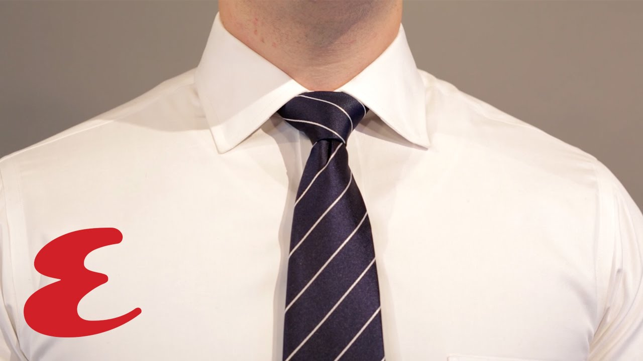 How to tie a half windsor knot youtube ccuart Images