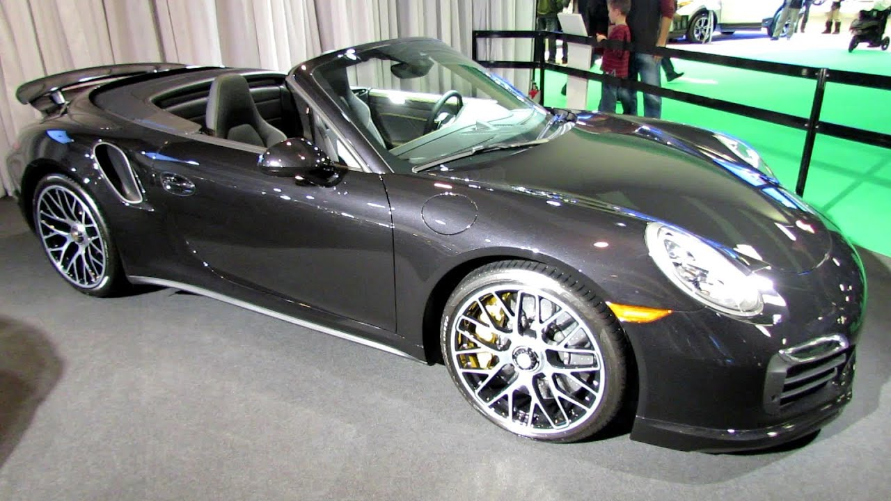 2014 porsche 911 turbo s convertible exterior and interior walkaround 2014 montreal auto show