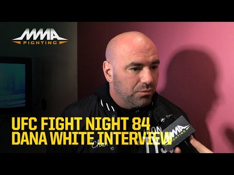 Dana White Talks Silva vs. Bisping, Conor McGregor, Diaz, Edgar, more