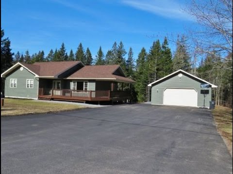 SOLD   1339 Route 820 Barnesville NB House/Garage For Sale 7Yrs Old