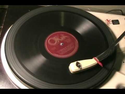 LAST NIGHT ON THE BACK PORCH - Billy Jones - 1923 - OKEH 4948