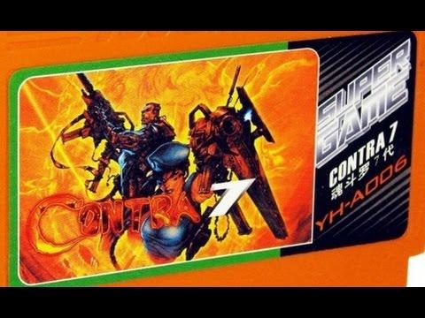Обзор Super Contra 7 (Молодость) Wolfing nes Денди Video