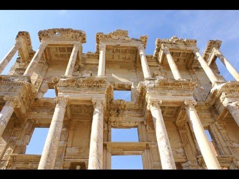 Efez - Ephesos - Turcja - Turkey - Biblioteka Celsusa - Świątynia Hadriana