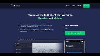 Giới thiệu Termius dùng để quản lý VPS