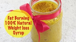 flat belly fat burner homemade 100 natural weight loss ginger syrup lose weight fast 5 kg