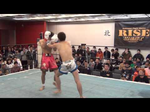 【2015.3.8 RISE WEST.3】武雄 vs イジリー高山
