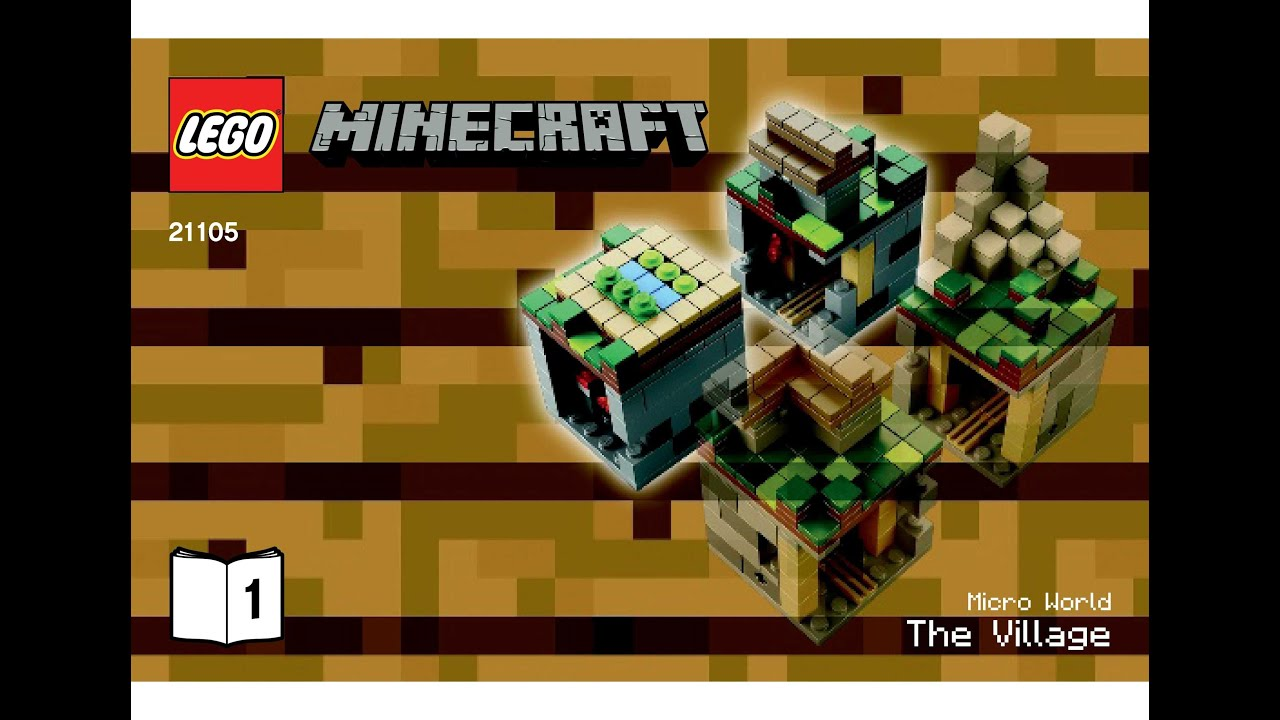 Lego 21105 The Village Instructions Lego Minecraft Micro World Youtube
