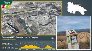 Ruta BTT, Pantano de La Grajera. Disfruta La Rioja