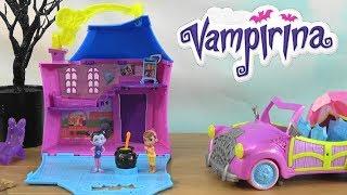 Vampirina Summer Vacation Story on Slimy Beach: Vampirina Scare B&B House with Family and Friends