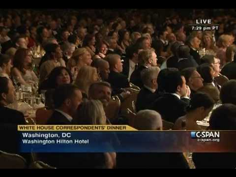Jay Leno at 2010 White House Correspondents' Dinner