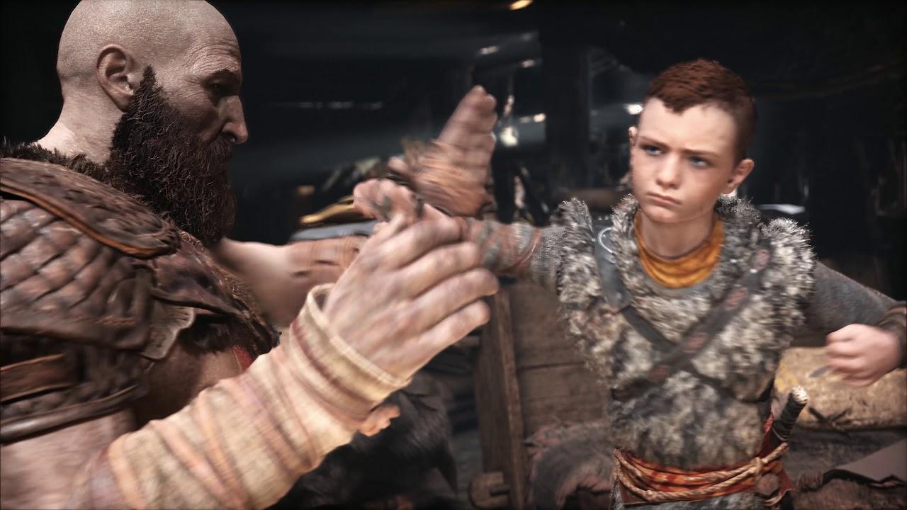 PS4《God of War》- 给儿子的心底话