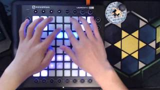 DJ Sona - Kinetic (The Crystal Method x Dada Life) (Launchpad Pro Performance by Mr_Sun_)
