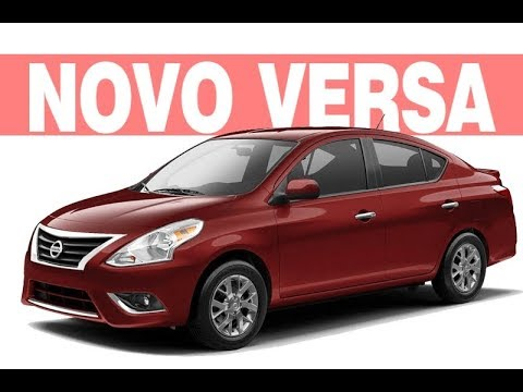 Novo Nissan Versa 2018 2019 - Ficha Técnica, Preço ...