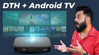 Airtel Xstream Box - Smart Android TV & DTH All-In-One ⚡ DTH Bhi Android TV Bhi
