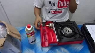 INDONESIA#review kompor gas portable MERK-progas