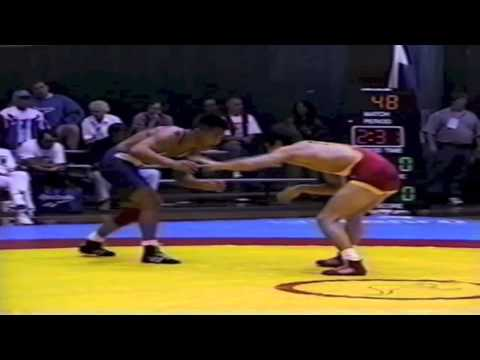 1995 World Cup: 52 kg Mongouch Tchetchen Ool (RUS) vs. Selwyn Tam (CAN)