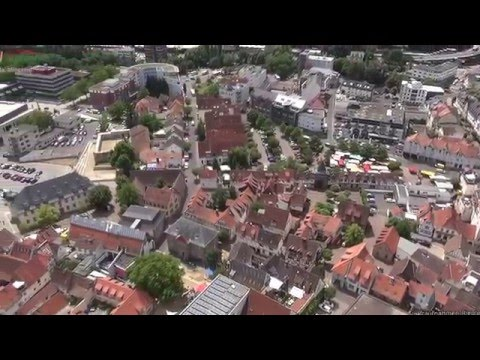 Hofheim aus der Luft