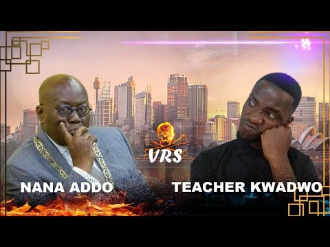 Teacher Kwadwo VS Prez Akufo Addo talks about Ghana.😂😂