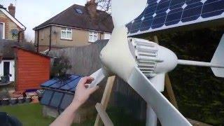 New Wind Turbine addition to Solar Power System