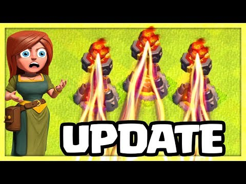 THREE Inferno Gameplay, BIG Changes! Clash of Clans Halloween Update 2018!