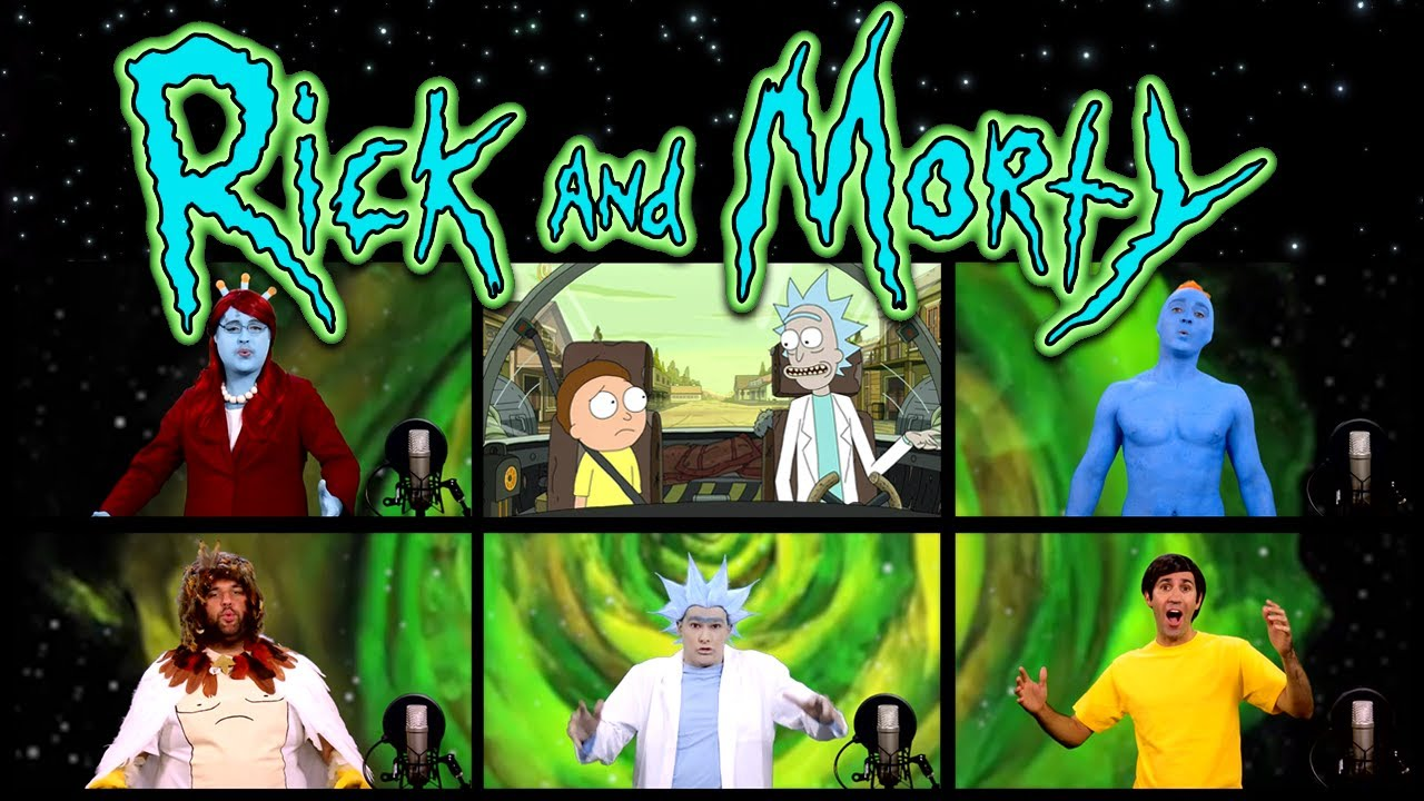 Gravity Falls Desktop Wallpaper Rick And Morty Theme Song Acapella Youtube