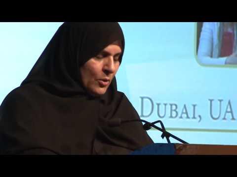 H.E. Raja Easa Al Gurg - GTF 2014 Award for Excellence in Leadership
